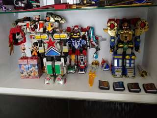 Power Rangers/Super Sentai Megazords