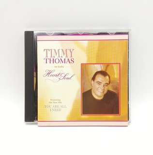 Timmy Thomas With Heart & Soul CD