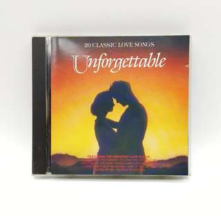 Unforgettable 20 Classic Love Songs CD