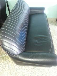 3-seater Sofa (Black)