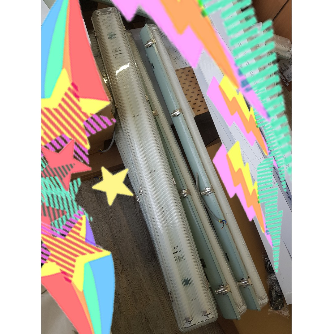 10 double tubelight with casing