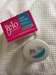 BELO night therapy whitening cream