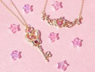 Po: salior moon necklace