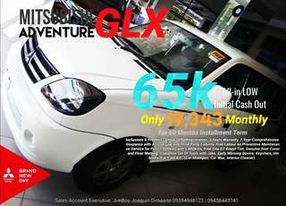 Mitsubishi Adventure GLX 65k DP SURE APPROVAL NO MINIMUM REQUIREMENTS DIAL NOW! 09394948123 OR 09458443741