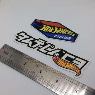 Sticker : Hot Wheels Cycling & Fatlace X Hot Wheels
