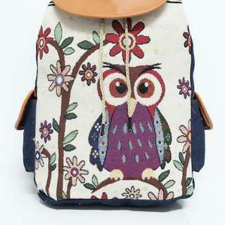 Owl backpack 😉