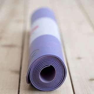 Brand new unopened Lulumeon reversible yoga mat purple