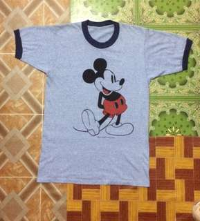 Vintage Mickey Mouse Tri-Blend