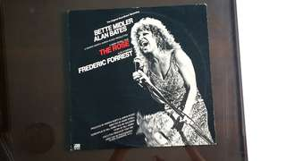 BETTE MIDLER ● ALAN BATES.  the rose. Vinyl record