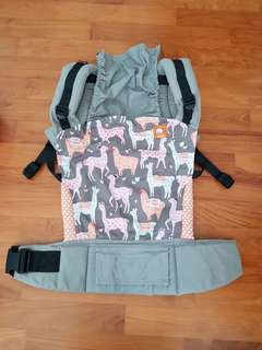 Alpaca love tula baby carrier with infant insert