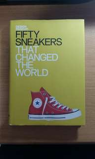 Fifty sneakers that change the world book