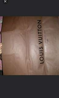 FREE authentic Louis Vuitton box and paper bag