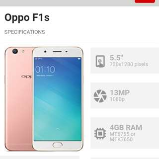 Selling my oppo f1s... No deffect 4months palng sakin