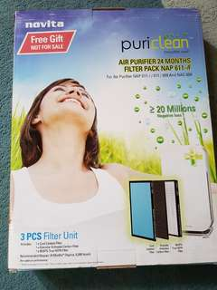 Novita Air Purifier 24months Filter Pack