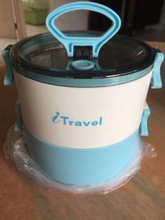 2-tiered Lunch Box from iTravel