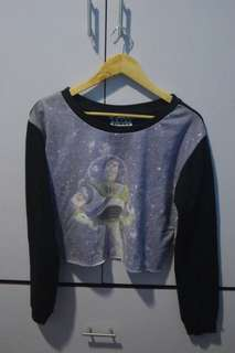 Toy story cropped pullover