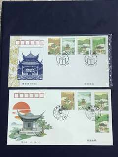 China Stamp- 2004-27 A/B FDC