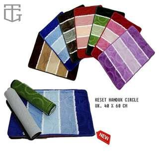 Keset Handuk Super Murah Multicolor