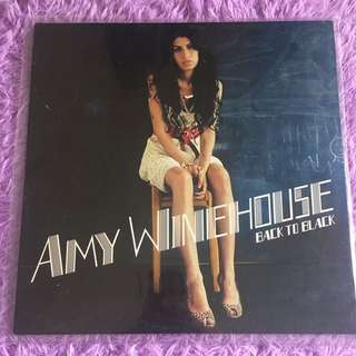 Amy Winehouse Back To Black vinyl record