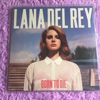 Lana Del Ray Born To Die vinyl record