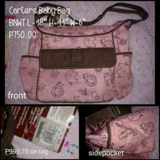 Brandnew with tag authentic carters bag