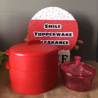 Tupperware Clearance Steam it
