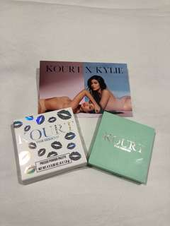 BNIB Kylie Cosmetics X Kourt Green Palette