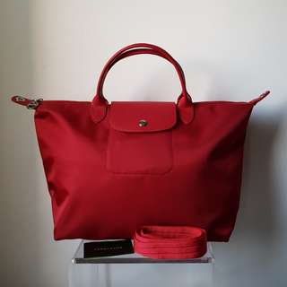 BN LONGCHAMP Neo 2-Way Bag with Removable Strap