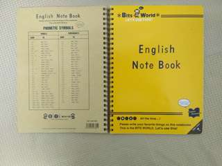 BITS WORLD ENGLISH Notebook