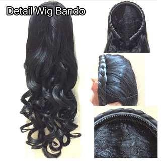 Halfwig Bando Kepang Curly