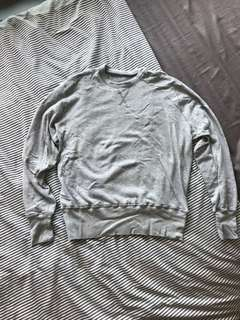Our Legacy Grey Reversible Sweater