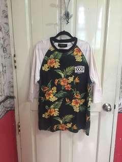 10 Deep floral shirt