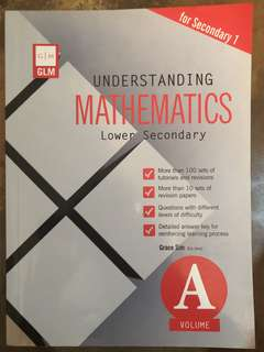 Secondary 1 Maths Guide & Revision Book