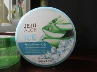 Jeju Aloe Gel ice