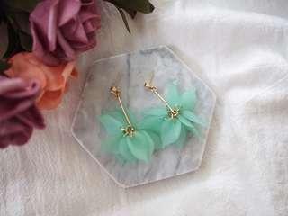 Crystal Floral Earrings