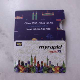 Myrapid rapidKL Card Touch N Go WUF9 Limited Collector Edition