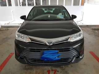 [FOR TAKING OVER < 2M CONTRACT LEFT] 2016 TOYOTA COROLLA AXIO 1.5EX AUTO
