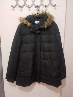 Fur Hood Padded Jacket