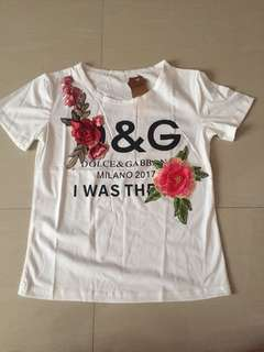 D&G Inspired Top