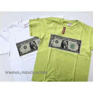 (价格私询)Supreme 17FW Dollar tree Tee #