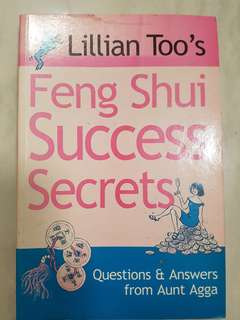 Feng Shui Success Secrets Book by Lilian Too