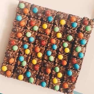 (36 pcs) Halal M&M Fudgy Brownies