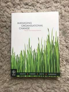 Managing organisational change