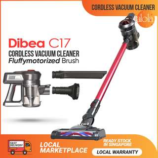 ✔FREE DELIVERY: Dibea C17 Cordless Vacuum Cleaner 2 in 1