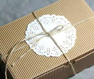 Corrugated Paper Box Kraft Hamper Soap Gifting Packaging Packing