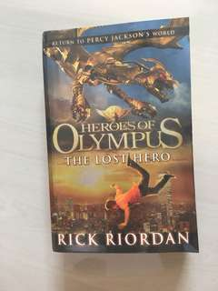 Percy Jackson Series Heroes Of Olympus The Lost Hero Rick Riordan