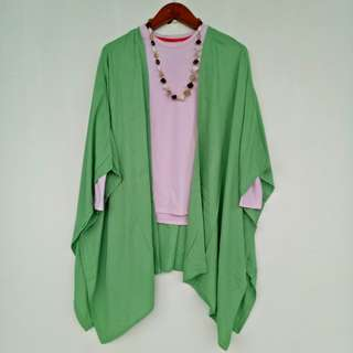 Batwing cardy oversize outer