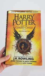 Harry Potter And The Cursed Child (hard cover) J.K. Rowling