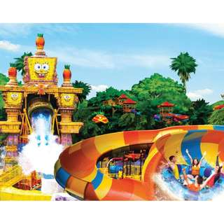 Sunway Lagoon Admission E-Ticket******************