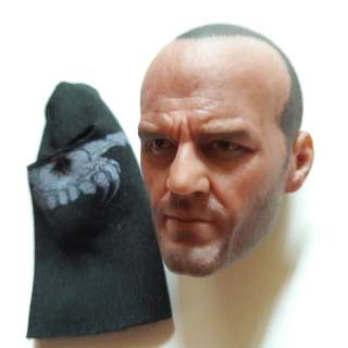 Belet Head sculpt Jason Statham with Skull Balaclava. 1/6 Scale.